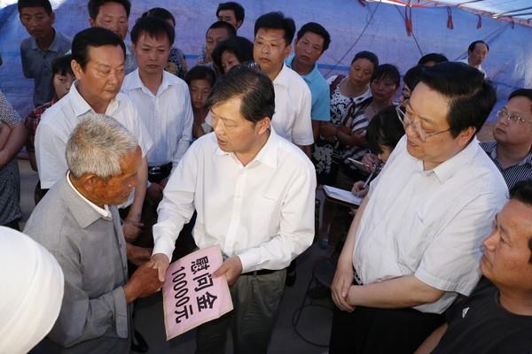 """滁州市委决定,将追授朱长海同志""""优秀共产党员""""荣誉称号,同时积极为"""