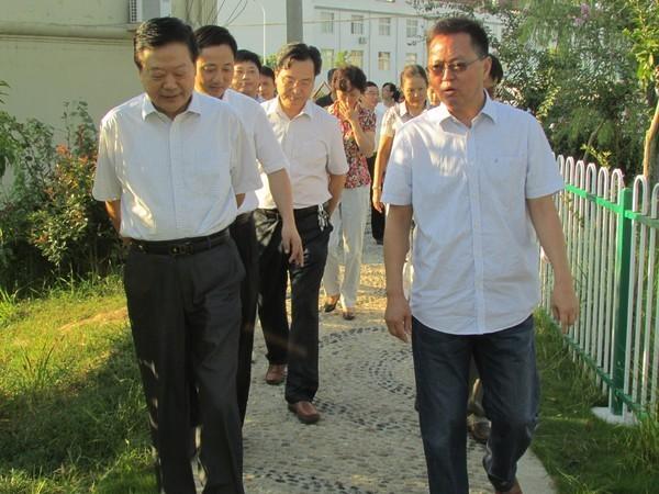 滁州人大常委会视察民生工程天长汇报会在郑集镇召开